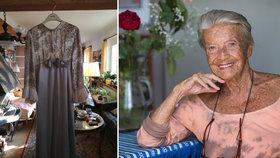 989e7f74e88 Zdeňka Procházková se chystá na vídeňský Ples v Opeře  Provětrá přes 60 let  staré šaty