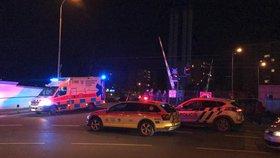 Vlak srazil za radotínským nádražím muže. Bohužel neměl šanci přežít