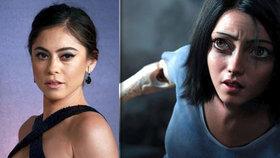 Rosa Salazarová (33) jako bojový anděl Alita: Je víc sexy skutečná nebo počítačová?