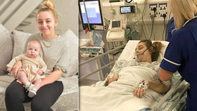 Dívka (18) v kómatu porodila: Nevěděla, že je těhotná! Měla dvě dělohy
