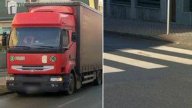 Holčičku (7) srazil na Náchodsku náklaďák: Přímo na přechodu pro chodce!