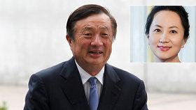 """Zakladatel Huawei brání společnost i zatčenou dceru: """"USA nás nerozdrtí"""""""