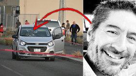 Hlasatele z rádia rozstříleli samopalem v autě! Gangsteři pálili z kalašnikovů