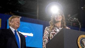 Trumpová se opřela do socialismu a komunismu. Zmínila i rodné Slovinsko