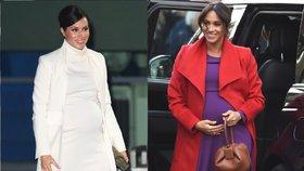 Outfity Meghan, na které nezapomeneme! Čím okouzlovala během těhotenství?