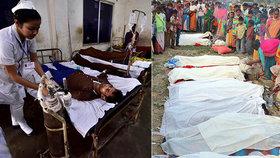 Pančovaný alkohol zabil přes 150 lidí. V nemocnicích jsou další dvě stovky Indů