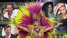 Hříchy v Riu de Janeiro: Kdo ze známých se rád vrtí v rytmu samby?