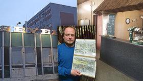 Severku měli zavřít! Sestra mostecké »knajpy« v Praze by bez architekta Jana Pokorného (46) nevznikla