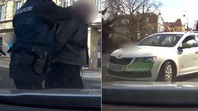 Řádění agresivního cizince na Karlovarsku: Ukradl taxík a demoloval policejní cely