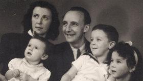 Eva Benešová: Rodiče odmítli nastoupit do transportu a z protektorátu utekli