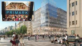 Kultovní Primark míří do centra Prahy. Víme, kdy otevře i kde ho najdete