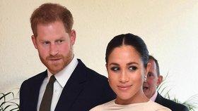 Obří průšvih Meghan a Harryho kryla královna? Pokus zamést stopy!