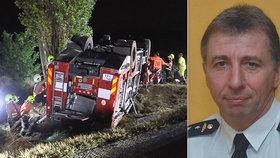 Policie obvinila hasiče, který havaroval:  Velitel Jiří (+57) nehodu nepřežil