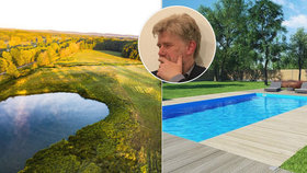 """Stavte jezera místo bazénů, radí expert z """"chytré"""" farmy. Češi řeší sucho s Izraelci"""