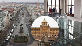 Supervýhled z Národního muzea: Poprvé otevřelo kopuli! Do historické budovy mohou konečně i vozíčkáři