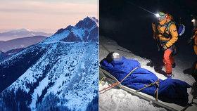 Zraněnou českou skialpinistku zachraňovala horská služba: Na vrchol ji poslali lanovkou!