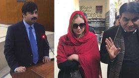 Modlete se za mě: Terezin soud v Pákistánu přerušila vážná nemoc