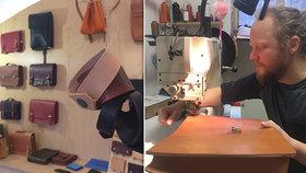 Podnikatel a živnostník roku: Jakub (32) vede brašnářství na Žižkově, jezdí za ním zákaznice až z Korey