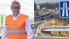 Ťok slibuje stavbu 178 kilometrů silnic. Šoféry čeká i další peklo na D1