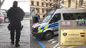 Po razii u Faltýnka a v Kapschi je 9 obviněných: Brněnská radnice zůstane zavřená