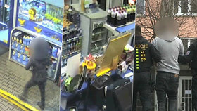 """Lupič přepadl benzinku v Kadani: """"Máme ho!"""" hlásili policisté za několik hodin"""