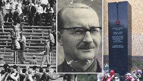110 let od narození Ryszarda Siwiece: Polskému předchůdci Palacha vzdali na Žižkově hold