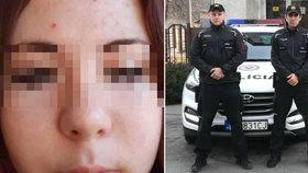 Lenka (15) se chtěla po znásilnění zabít, zachránili ji policisté Dominik a Marian