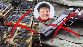 Džamila Stehlíková: Češi milují zbraně. Chybí síto na psychopaty a teroristy
