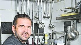 Šéfkuchař z MasterChefa Radek Kašpárek: Já mám hvězdu,  ostatní ať si trhnou!