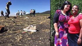Krásná Slovenka Danica zemřela v Keni při pádu letadla. Mířila pomáhat chudým dětem