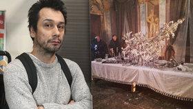 Jen o vlásek unikli smrti! Pavel Liška popsal neštěstí v průběhu natáčení