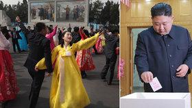 Severokorejci volí parlament. Nikdo nesmí zůstat doma, Kim šel příkladem