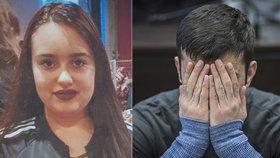 """Migrant znásilnil a zabil školačku (†14). U soudu se vymlouval na """"blikanec"""""""