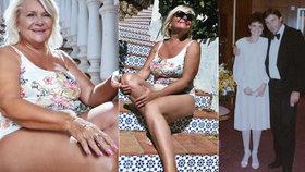 Manželka Ladi Kerndla (73): Do svatebních šatů se pořád vejdu, ale tohle jsem musela udělat!