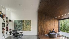 Vilu od Gehryho přetvořili k nepoznání! Slouží jako domov a galerie v jednom