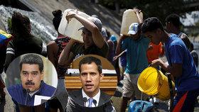 """""""Zabíjí nás žízní."""" Lidé ve Venezuele jsou šest dní bez elektřiny, zápasí o vodu"""