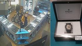 VIDEO: Ze zastavárny ukradl luxusní hodinky za 165 tisíc! Zloději pomohl zapomenutý klíč