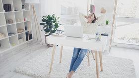 Máte home-office? Tyhle vychytávky usnadní vaši práci a zvednou vám náladu