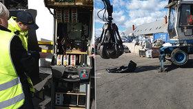 Takhle výherní automaty mizí z povrchu zemského! Celníci likvidovali první zabavené kousky