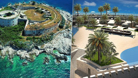 Ostrovní pevnost se změní v luxusní resort: Za druhé světové války tu bylo mučeno 2000 vězňů