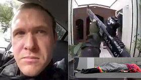Novozélandský střelec se přiznal k tomu, že v mešitách vyvraždil 51 lidí
