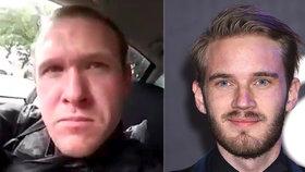 Polibek smrti nejslavnějšímu youtuberovi? Terorista z Nového Zélandu ho zmínil během vraždění
