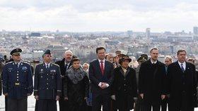 Temný den a panská rasa: Vpád nacistů si v Praze připomněli legionáři i politici