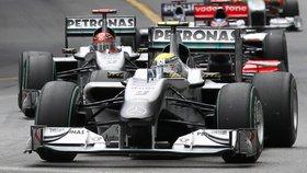 Závod F1 v Monaku ovládl Webber z Red Bullu