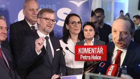 """Komentář: ODS """"zatípla"""" svou volební kometu. Klaus ml. ji bude ještě bolet"""