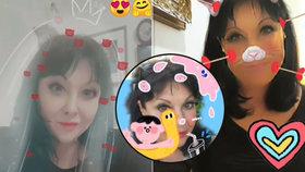 Dáda Patrasová řádí na instagramu: Z jejích fotek přechází zrak