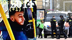 Strůjce teroru v Utrechtu zadrželi. Po střelbě v tramvaji jsou tři mrtví