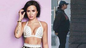 Bývalá hvězda Disney Demi Lovatová k nepoznání! Závislost na drogách léčí jídlem