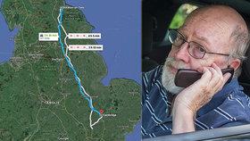 Dobří lidé nevymřeli: Muž odvezl dvojici seniorů 300 kilometrů za umírající matkou