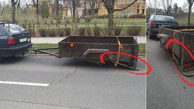 Výtečník z Opavy znovu udeřil: Na vozíku použil skateboard místo kola, teď řídil zase pod vlivem